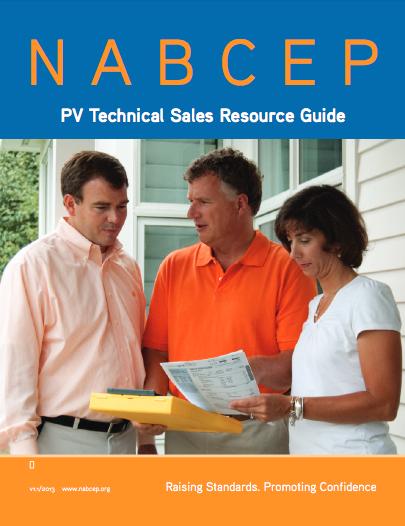 nabcep certification - solar training - solar installer training