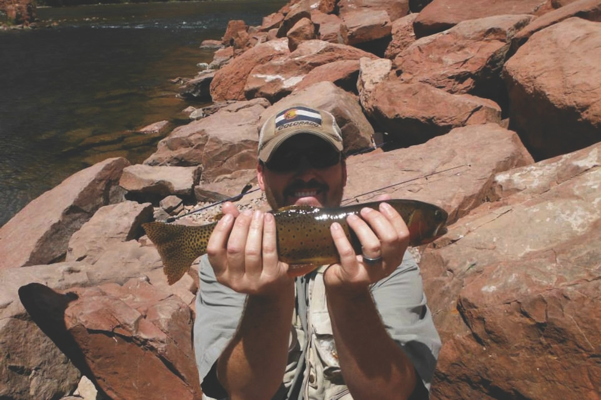 Fly fishing the gunnison river solar training solar for Gunnison river fly fishing