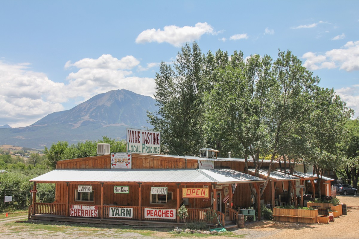 orchards and local produce in Paonia, CO