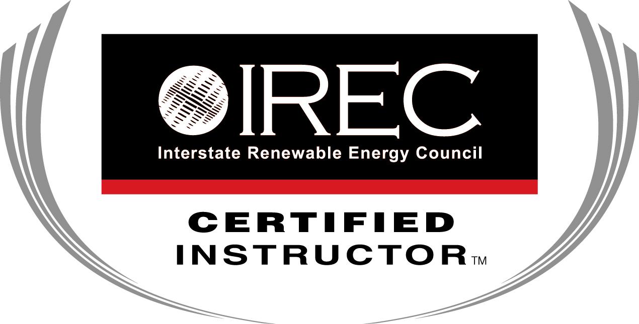 Sei instructors solar training solar installer training ireccertified instructor2014 final xflitez Choice Image