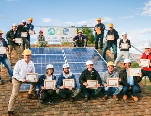 SEI Spanish Hands-on Solar Installation Training Lab HUGE Success