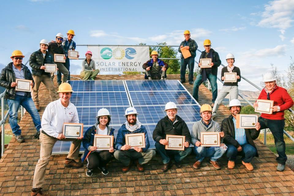SEI Spanish Hands-on Solar Installation Training Lab HUGE