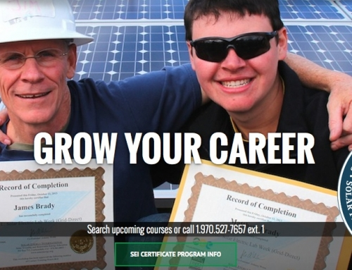 SEI Welcomes ECOMARK Solar as Solar Ready Colorado Employer Partner