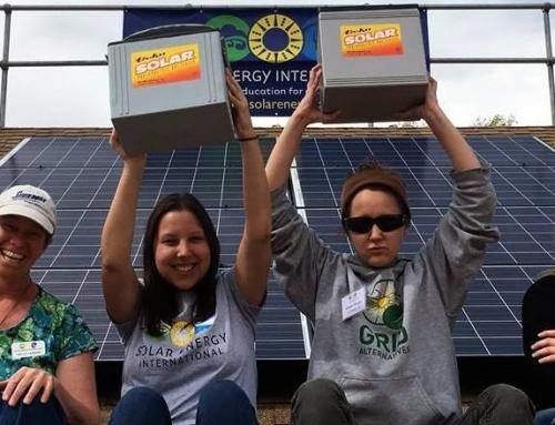 SEI Alumni Highlight: Emily Petrossian Completes Battery-based Solar Installation Training