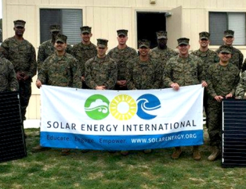 Solar Energy International (SEI) Receives Approval for Veterans Education Funding
