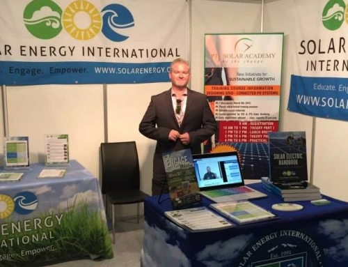 Solar Energy International (SEI) Selected as Training Partner for Middle East Solar PV Conferences