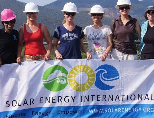 SEI and WISE Team Up to Empower Women Through Solar Training Partnership