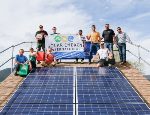 SEI Instructors Reach New Heights in Solar