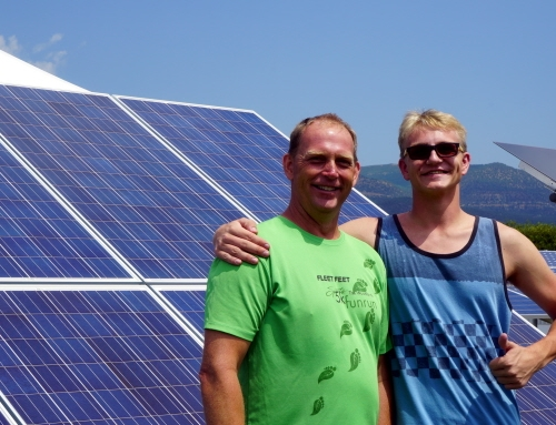 Father/Son Duo Launch Solar Careers with SEI!