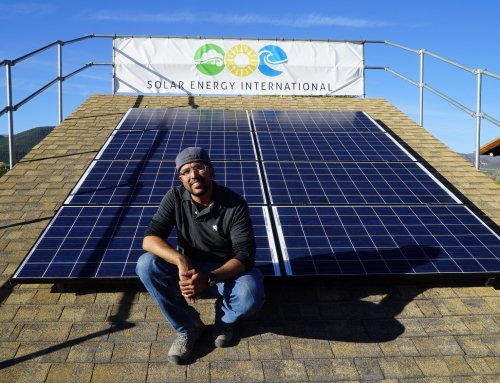 SEI's solar energy training impacts projects around the world