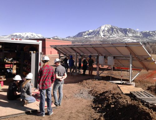 SEI's Solar in Schools achieves new milestone: First successful 10 kW high school install in Paonia