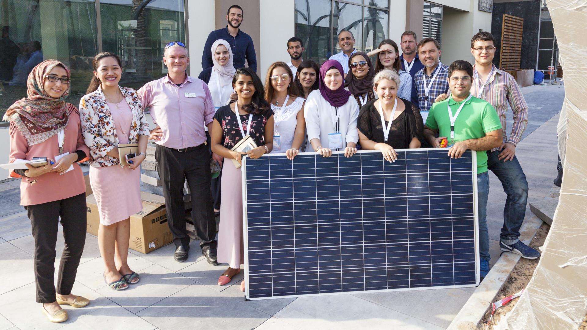 SEI Middle East and Africa Training Program - Solar Training - Solar