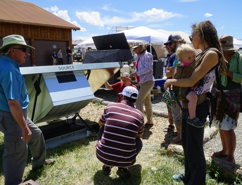 Zero Mass Water system wows students and Solar Fair attendees
