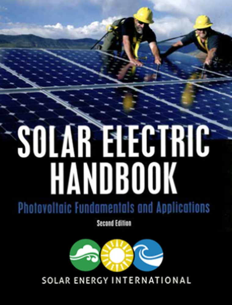 Pick up a discounted copy of SEI's Solar Electric Handbook and Fotovoltaica!
