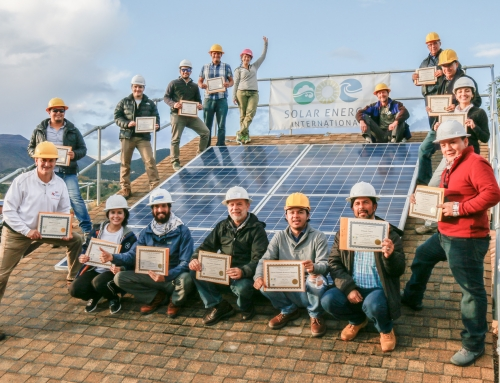 La certificación solar es un viaje no un destino