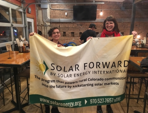 Solar Forward: Gunnison 'Solarize' launch garners community support and media recognition