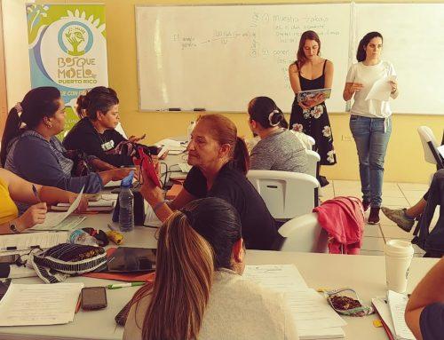 Bosque Modelo de Puerto Rico capacita a mujeres de sus comunidades rurales en Energía Solar con el Programa de SEI