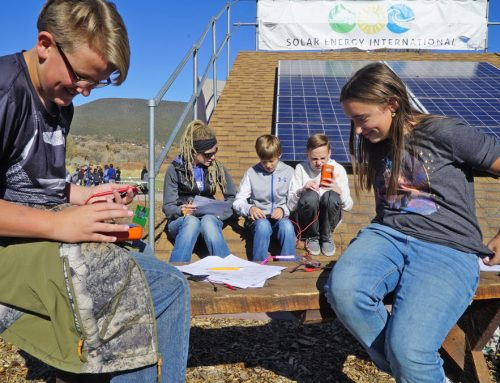 SEI's Solar In the Schools (SIS) outreach program hosts its sixth Solar Lab Days for Delta County 8th graders