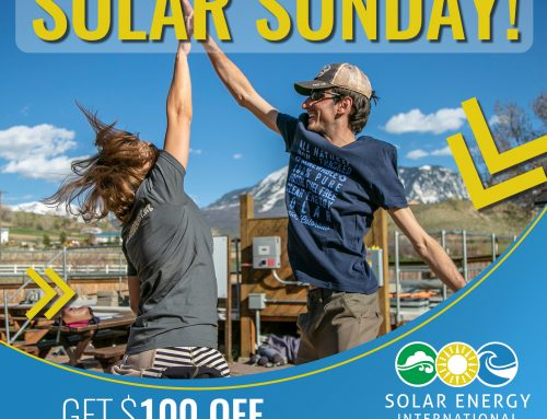 Solar Sunday – get $100 OFF Solar Training!