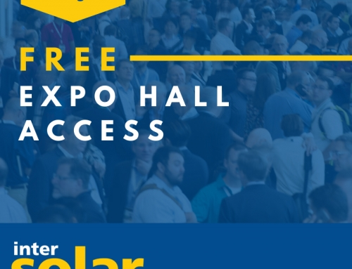 Intersolar North America 2020 is coming – get FREE access to the Expo Hall before Dec. 31, 2019
