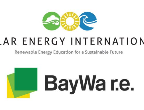 Solar Energy International (SEI) announces new BayWa r.e. Scholarship Fund