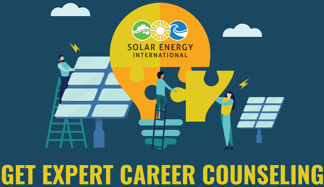 Get Career Counseling Solar Training Solar Installer Training Solar Pv Installation Training Solar Energy Courses Renewable Energy Education Nabcep Solar Energy International Sei