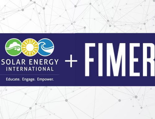 FIMER supports Solar Energy International (SEI) through Industry Sponsorship