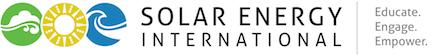 Solar Training – Solar Installer Training – Solar PV Installation Training – Solar Energy Courses – Renewable Energy Education – NABCEP – Solar Energy International (SEI) Logo
