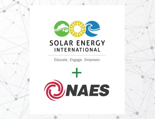 NAES Corporation forms partnership with Solar Energy International (SEI) to deliver O&M Solar Technician training