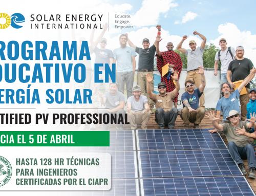 Programa Educativo en Energía Solar del CIAPR Y SEI