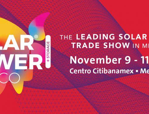 Participa de Solar Power Mexico 2021